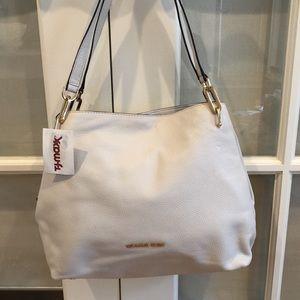 Cream Leather Michael Kors Bag